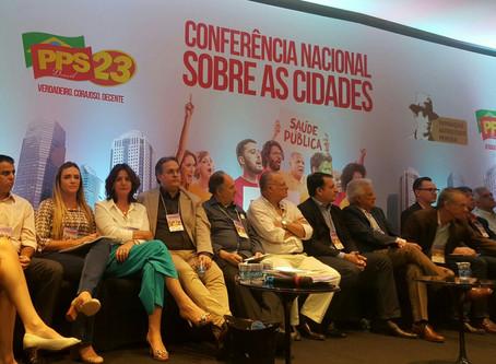 Debate sobre governança democrática mobiliza filiados do PPS no Espírito Santo