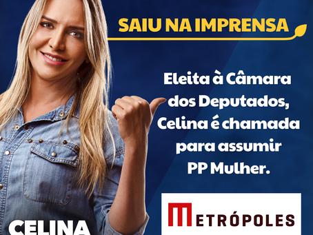 Celina é chamada para assumir PP Mulher