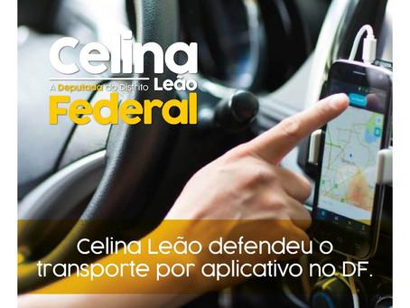 DEPUTADA CELINA LEÃO É UMA DEFENSORA DE DIREITOS DOS MOTORISTAS DE APLICATIVOS