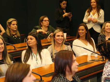 Celina Leão (PP), participou nessa terça-feira (27), do encontro de boas-vindas, com as deputadas fe