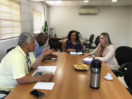 Celina Leão em ação para atender a população de Riacho Fundo II