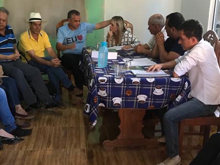 Celina Leão reúne-se com chacareiros de Vicente Pires