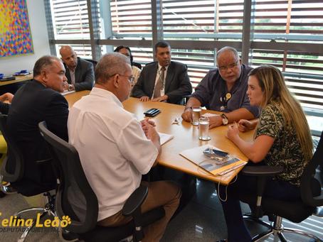 Presidência da CLDF recebe o Sindical e ouve reivindicações