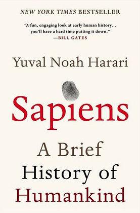 Sapiens: A Brief History of Humankind - by Harari, Yuval Noah