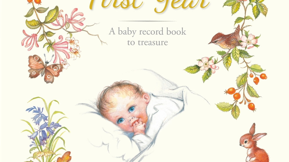 Our Baby's First Year: A Traditionally-Styled Keepsake