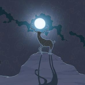 Bear Bernard: Elk & Moon