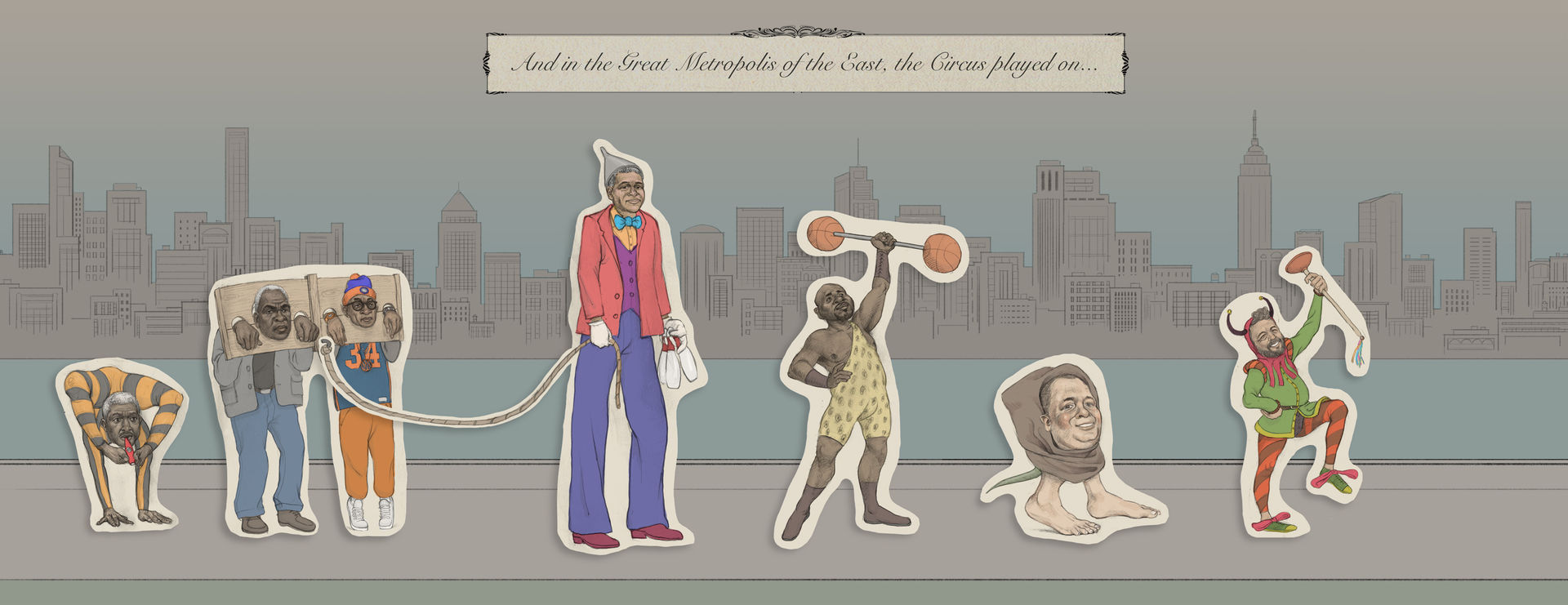 And in the Great Metropolis of the East the Circus played on...