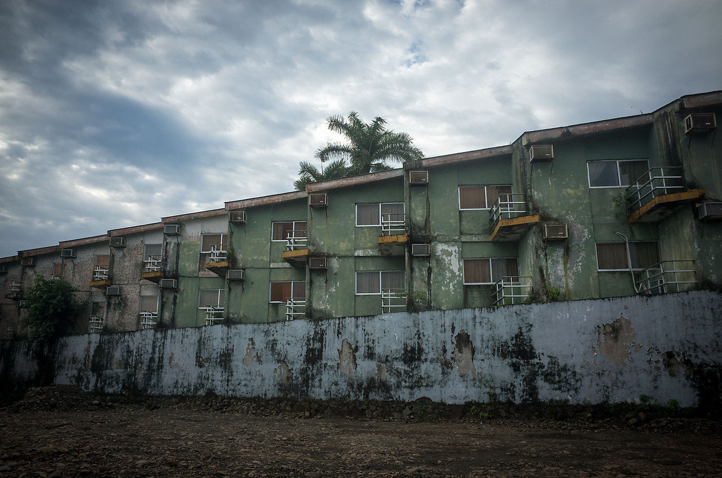 The exterior of a hotel in San Blas.