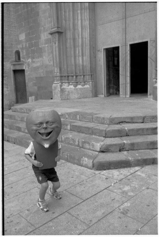 Barcelona Mask - by David Peat