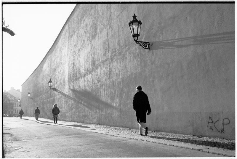 Prague Shadows - by David Peat