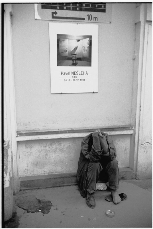 Homeless & Poster - by David Peat