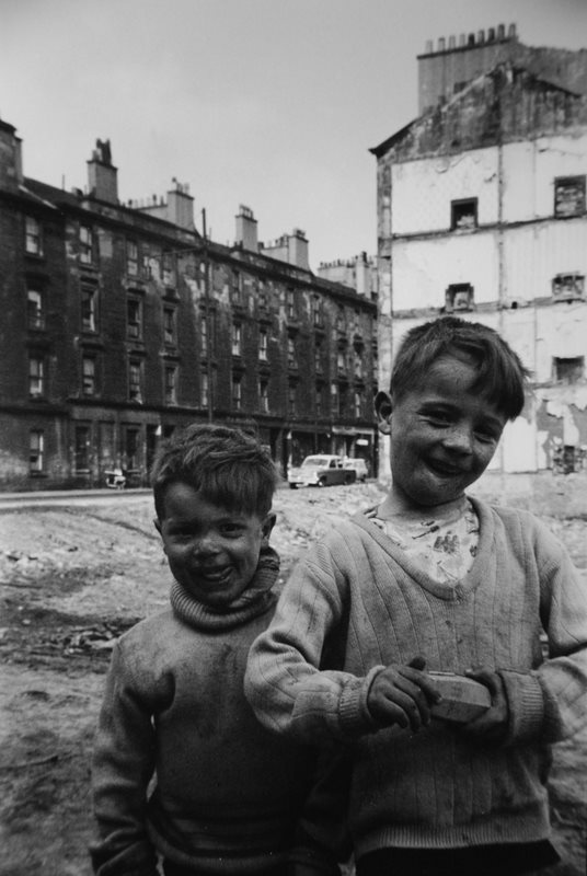 Two Boys Gable End - by David Peat