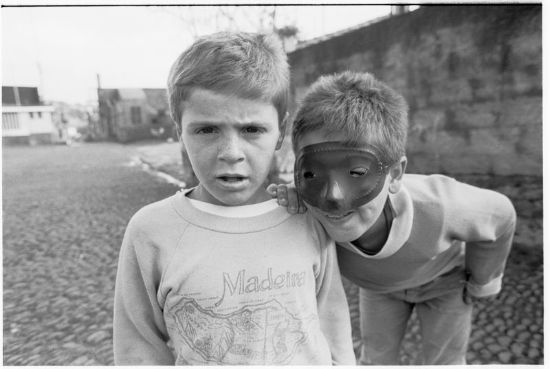Two Boys Madeira - by David Peat