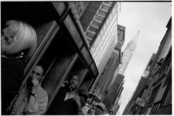 Manhattan Phone Boxes- by David Peat