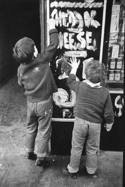 Boys & Chalk - by David Peat