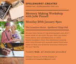 Speldhurst creates Monthly talks for all
