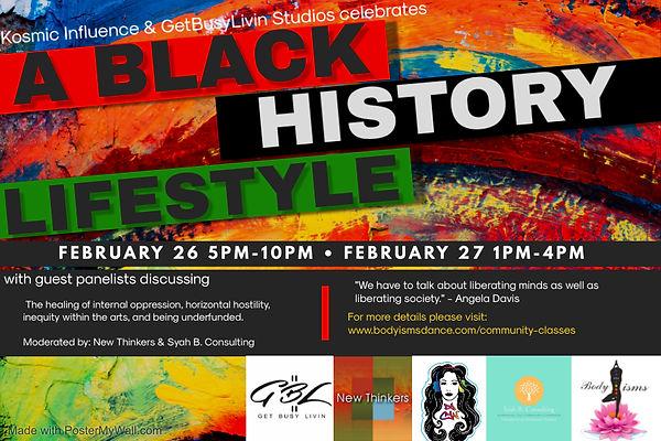 Copy of Black History Art Institute Even