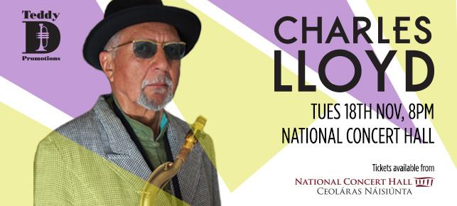 Charles Lloyd Dublin Concert Nov 2014