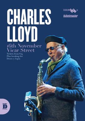Artwork Charles LLoyd Dublin Concert Nov