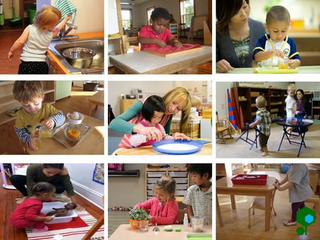 Conselhos para iniciantes em uma classe ou escola montessoriana