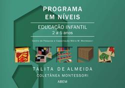 Programa em Níveis - 2 a 5 - Fundamental - Impressão