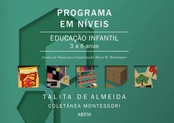 Programa em Níveis - 3 a 6  - Fundamental - Impressão