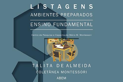 Listagens Ambientes Preparados - Fundamental