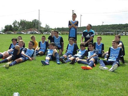 Équipe des jeunes de Champdieu Marcilly
