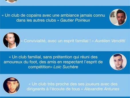 Découvrez ce que pense nos joueurs du club de Champdieu Marcilly