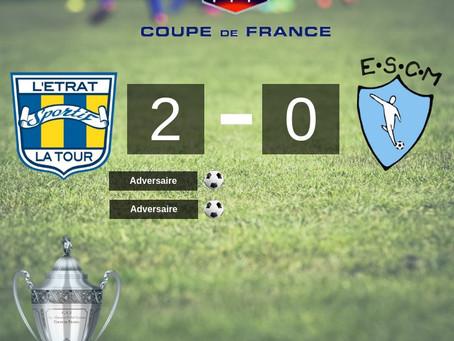 La coupe de France, c'est terminé...