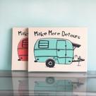 Make More Detours Print