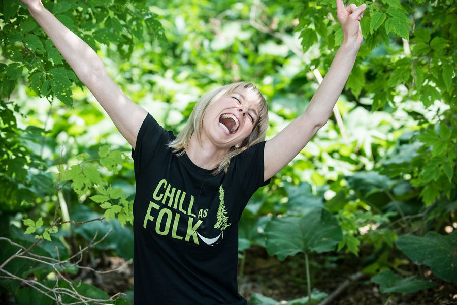 Chill As Folk T-shirt