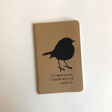 If I was a bird... Notebook