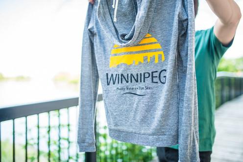 Winnipeg Zip Up Hoodie