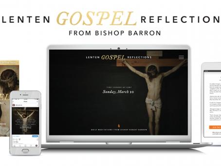 Walk with Bishop Barron through Lent