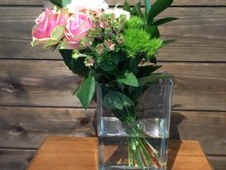 ソワカのブーケスタイルの花束
