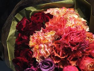 インパクト 情熱たっぷり花束