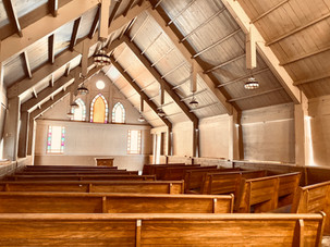 Camp Ara Interior Chapel