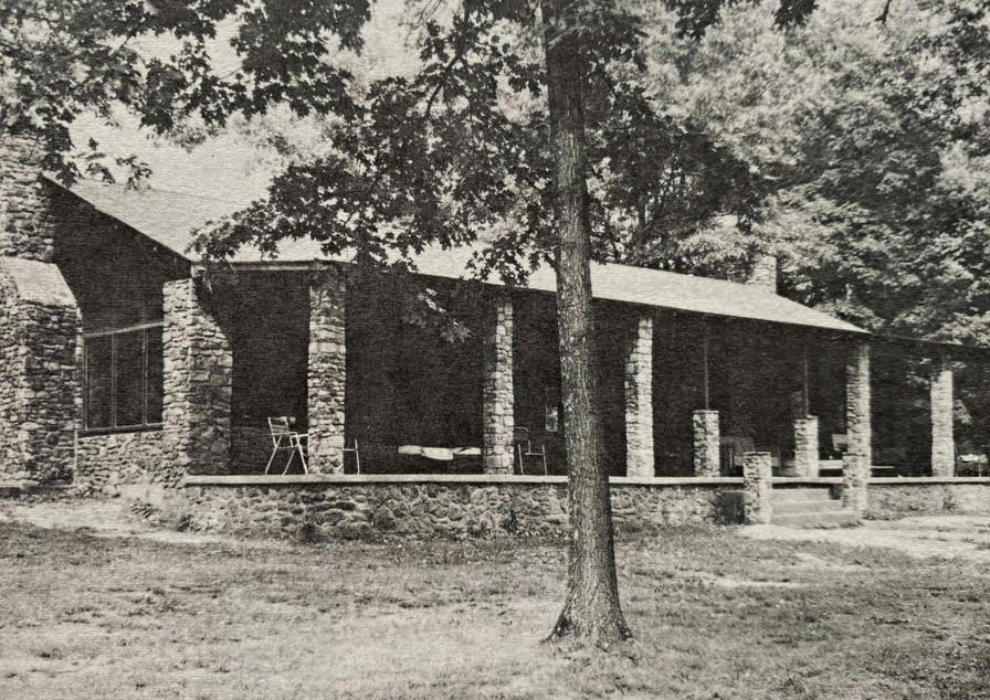 Mission Farm, Camp Ara, Original Dining Hall