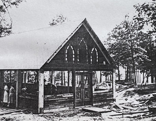 Mission Farm, Camp Ara, Chapel Construction