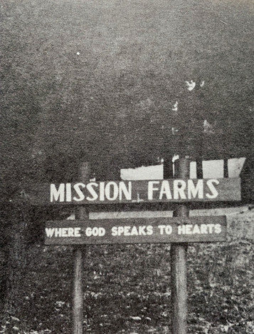 Mission Farms Original Sign