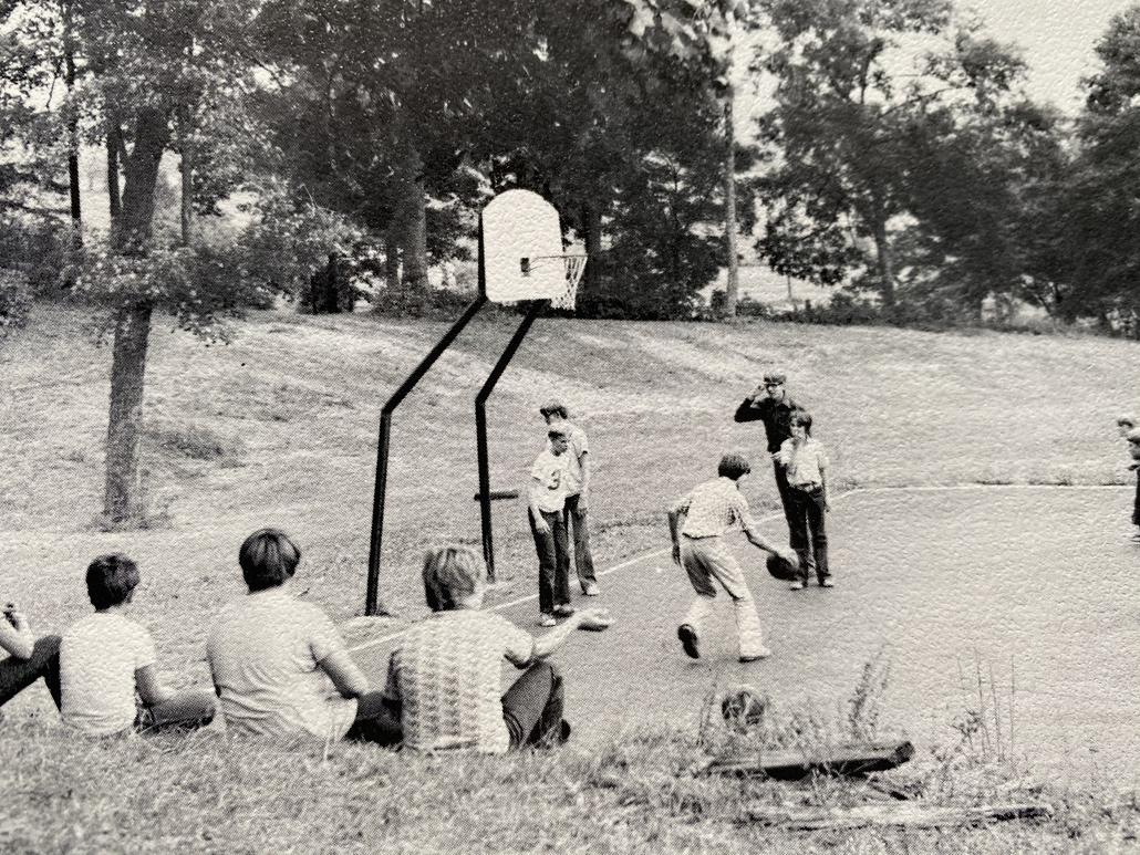 Mission Farm, Camp Ara Original Sports area