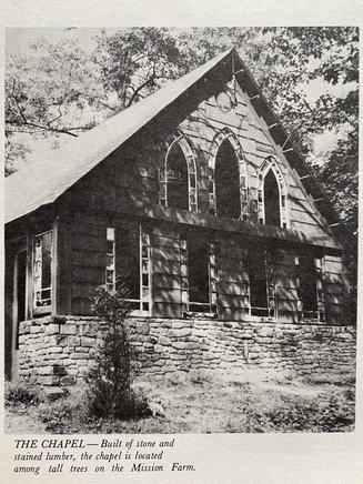 Mission Farm, Camp Ara, Chapel Completion