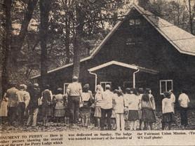 Mission Farm, Camp Ara, Joe Perry Dedication