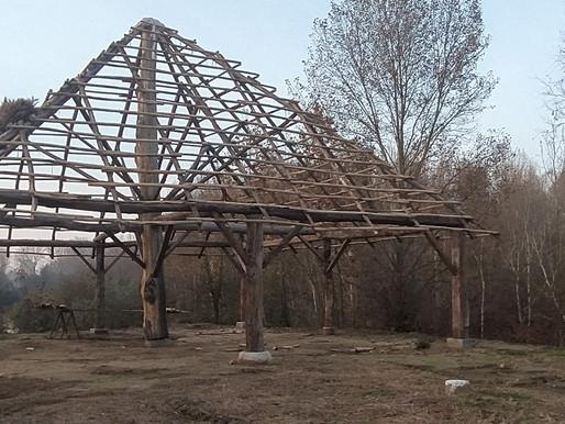 Completata la struttura del Mercato coperto del Villaggio