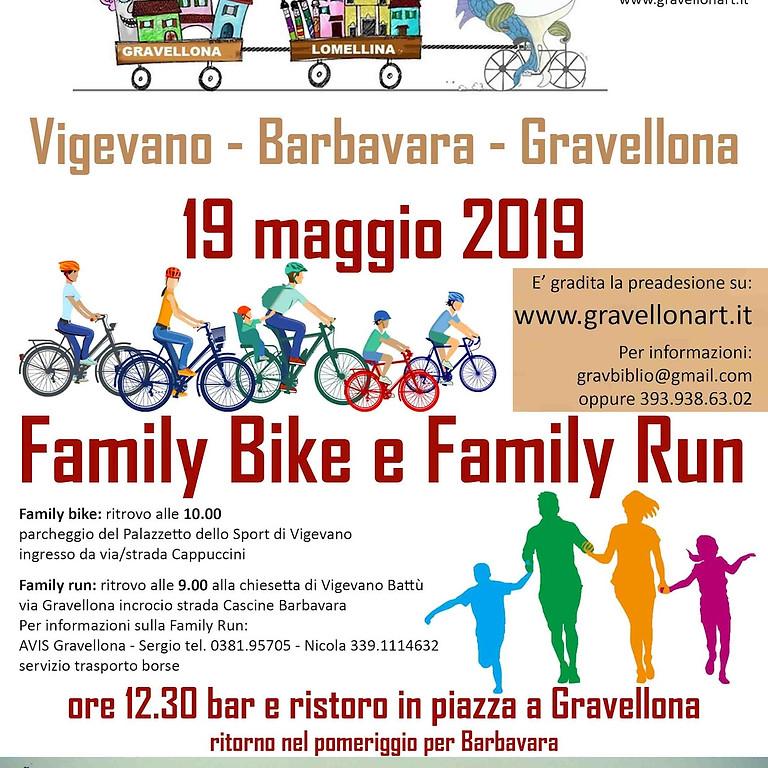 Family Bike e Family Run 2019