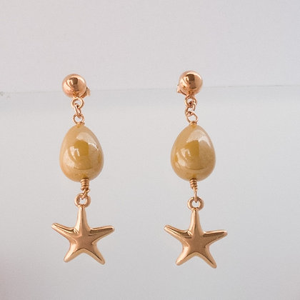 Aretes Perla Estrella