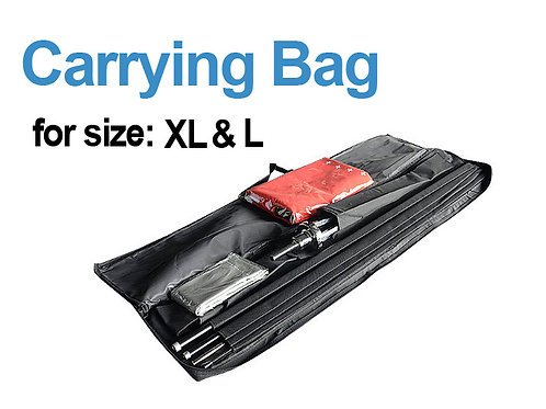 Teardrop Carry Bag (XL / L) - (Hardware Only)