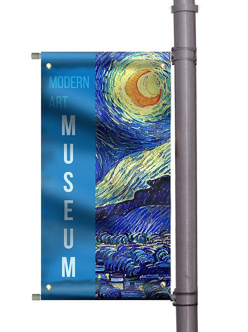 "Pole Banner Set (18"" x 36"")"