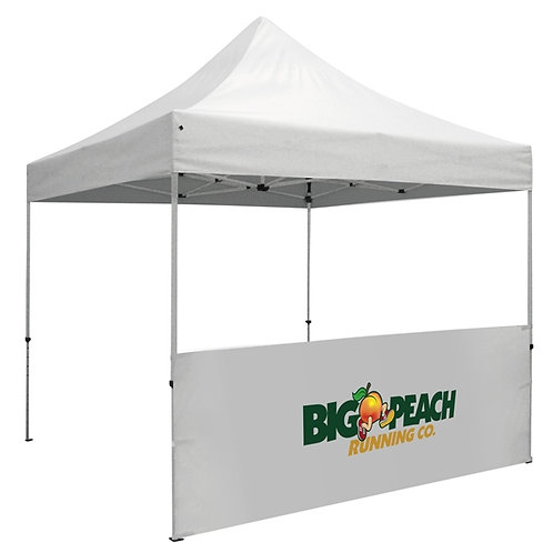 Half Wall Tent w/Graphics - Single Piece (Full Color)